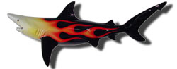 76-inch Blacktip Shark Sculpture