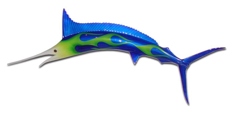 48-inch Marlin Sculptures