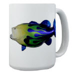 Hot Rod Big Mouth Bass Coffee Cup