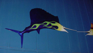Real World Sailfish Sculpture