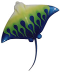 21-inch Bat Ray Sculpture